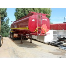 HP tri semi water tanker